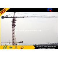China Fixed Hammerhead Tower Crane For High Rising Building Construction wholesale