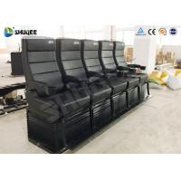 China Environmental Motion Chair 4D Cinema Equipment With Metal Flat Screen wholesale