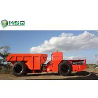 China 30 Ton Low Profile Dump Truck Underground Dump Truck For Mining / Tunneling wholesale