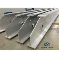 Buy cheap Wide Range Finished Aluminium Construction Profiles 6063 Structural Aluminium Sections from wholesalers