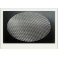China Round SS Sintered Wire Mesh Filter With Round Filter Disc 2-2300 Mesh / Inch wholesale