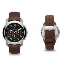 Buy cheap Wholesale Fossil Grant Chronograph Men's Leather Watch FS4813 from wholesalers