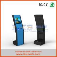 China Large Screen Kiosk Information Kiosk System Touch Anti - Dust 250 Cd/㎡ Brightness wholesale