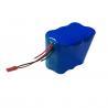 Buy cheap CC CV 18650 12V 6400mAh Custom Lithium Ion Battery IEC62133 MSDS from wholesalers