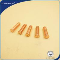 China Fine Appearance CD Welding Stud / Weld On Threaded Studs For High Stress Environment wholesale