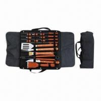 China BBQ Set/BBQ Tool Set with Tool Bag, European Standard wholesale