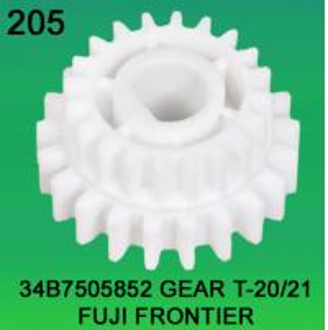 China 34B7505852 GEAR TEETH-20/21 FOR FUJI FRONTIER minilab wholesale