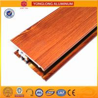China Insulation Wood Finish Aluminium Profiles For Medical Equipment OEM wholesale