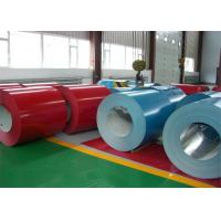 China PE / PVDF color prepainted coated aluminum coil for acp /  sublimation / roller shutter wholesale