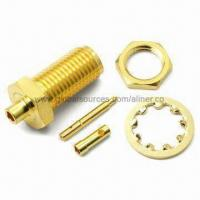 China SMA Bulkhead Jack Reverse Coaxial Connector for Mini Coaxial, 50 Ohms wholesale