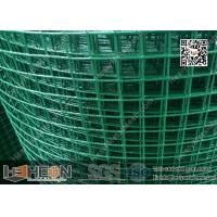 "China 1""  aperture Green PVC coated Welded Wire Mesh Roll 