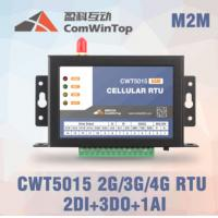 China CWT5015 Cellular RTU, M2M telemetry controller, sms 3G 4G wireless remote control relay switch,3G 4G gsm i/o module on sale