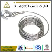 China 6*19+IWS 4.0mm Lifting Sling/304 stainless steel wire rope sling wholesale