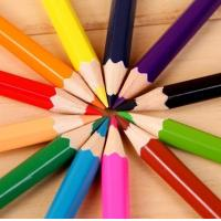 China Color Pencils 24 Different Colors P P Barrels Packaging on sale