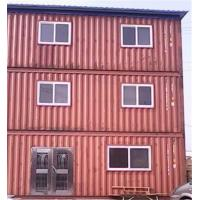 China Used  20gp Steel Portable Prefab Container House For Hotel Office wholesale