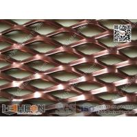 China Color Coating Aluminium Expanded Metal Sheet for Building Achitectural wholesale
