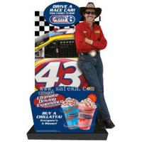 Quality Carton Cardboard Lifesize Human Cutout Display Standees,Carton Floor Display in for sale
