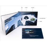 China Promotional handmade digital video brochure , Multi - page lcd video card wholesale
