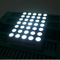 China High Brightness 5x7 Dot Matrix LED Display Row Anode For Elevator Position Indicator wholesale