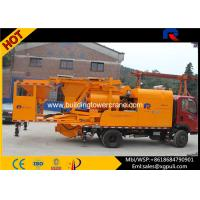China High Efficiency Mobile Concrete Batching 40m3/H Pumping Output wholesale