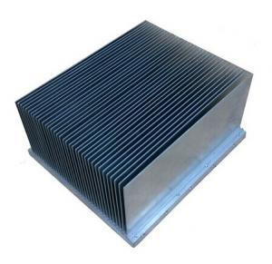 China Clear anodized  Aluminum Extrusion Heatsink For Aluminum Radiator wholesale