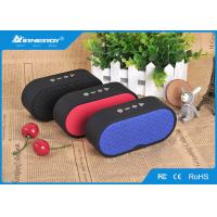 China Cloth Wireless Bluetooth Subwoofer Speaker Sound Box With 1200mAH Capacity Battery wholesale