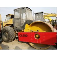 China Used DYNAPAC Sheep Pad CA30D Road Compactor /Dynapac Single Drum Vibratory Roller wholesale