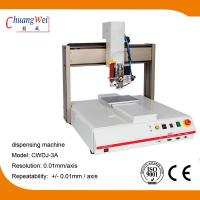 China 3 Axis Single Working Automatic Dispensing Machine Optional Dispensing Path wholesale