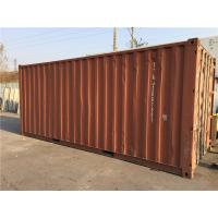 China Steel Dry Used 20ft Shipping Container / Second Hand Storage Containers wholesale