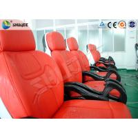 China Business Center 5D Cinema Equipment With Safety Chair / Push Back Function wholesale