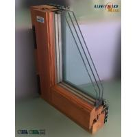 China High grade Three layers glass Aluminium Window Profiles in apartment building wholesale