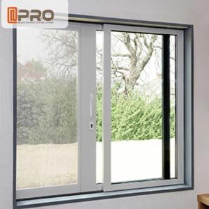 China Waterproof Anodised Customized Aluminium Sliding Windows With Single Tempered Glass wholesale
