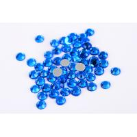 China Small Loose Octagon Heat Fix Rhinestones 1.5mm - 10mm With Even Facets wholesale