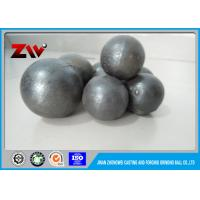 China HRC 60-68 Sag Mill Grinding Balls for mining 45# 60Mn B2 and Cr 1 - 20 wholesale