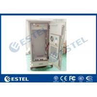 """China 19 """" Electric Outdoor Telecom Cabinet  With Heat Exchanger Cooling Double Layer wholesale"""