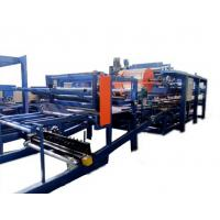 China Colored Steel PU Sandwich Panel Production Line , Roof Panel Roll Forming Equipment wholesale