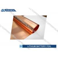 China Li - ion Battery Cathode Basic Material electrodeposited copper foil roll wholesale