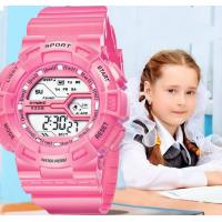 China SYNOKE Children Multifunction Chronograph Alarm Shock Resist 3 ATM Candy Color Sport Watches 9328 wholesale