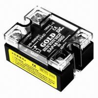 Quality AC Single Solid State/Power Relay, 24V/60A SSR with Status Indicator LED for sale