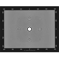 China 3NH ITE Circular Zone Plate Chart  Camera Test Chart wholesale