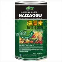Quality Natural seaweed extract Organic Seaweed Fertilizer with black powder color for sale