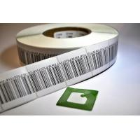 China Supermarket Anti Theft Printing EAS RF Soft Label RFID Labels With Barcode wholesale