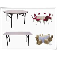 China foldable banquet table wholesale