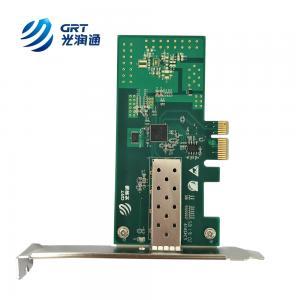 China marcas tarjeta de red Intel I210 single sfp port gigabit ethernet pci-express card on sale