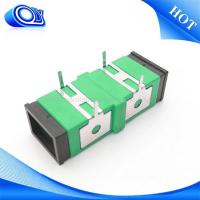 Wholesale Single mode SC UPC APC  Fiber Optic Adapter / fiber optic coupler from china suppliers