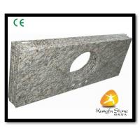 China Xiamen Kungfu Stone Ltd supply River White Granite Countertops  In High quality and cheap price wholesale
