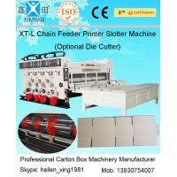Corrugated carton boxes flexo printer slotter machine economical type