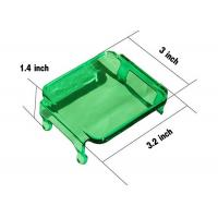 China Green Cover For Cube 2X2 LED Lights Vehicle Accessories For 12V jeep Trucks wholesale