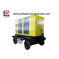 Buy cheap Automatic Trailer Type Mobile Power Generator Station Electric Governer 30kw Diesel IP23 from wholesalers