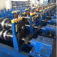 China Durable Highway Guardrail Roll Forming Machine 300 H - High Grade Steel Frame Material on sale